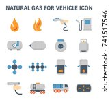 tank and transportation icon of ... | Shutterstock .eps vector #741517546