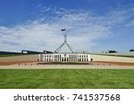 canberra  australia  12 dec... | Shutterstock . vector #741537568