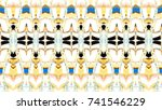 colorful horizontal... | Shutterstock . vector #741546229