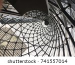 looking up | Shutterstock . vector #741557014