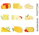 Different Types Of Cheese...