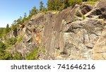 remote canadian shield | Shutterstock . vector #741646216