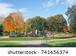 river play discovery village  a ... | Shutterstock . vector #741656374