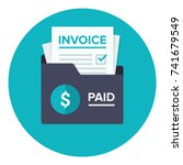 Invoice Flat Icon. Payment And...