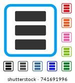 database icon. flat gray...