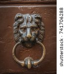 knockers of rome | Shutterstock . vector #741706288
