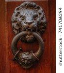 knockers of rome | Shutterstock . vector #741706294