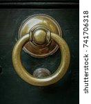 knockers of rome | Shutterstock . vector #741706318