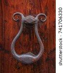 knockers of rome | Shutterstock . vector #741706330