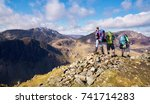 buttermere  lake district ... | Shutterstock . vector #741714283