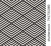 vector seamless pattern. modern ...   Shutterstock .eps vector #741731380