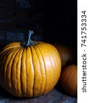 pumpkins  | Shutterstock . vector #741753334