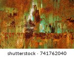 Abstract Rusty Metal Texture ...