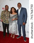 """Small photo of LOS ANGELES - OCT 15: Joe Morton, Debbie Allen, Norm Nixon at the """"Turn Me Loose"""" at the Wallis Annenberg Center for the Performing Arts on October 15, 2017 in Beverly Hills, CA"""
