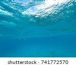 wonderful cozumel sea | Shutterstock . vector #741772570