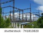 russia  perm   june 12  2015 ... | Shutterstock . vector #741813820