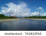 russia  perm   june 12  2015 ... | Shutterstock . vector #741813910