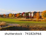 Golf Course In The Autumn In...