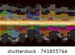 abstract vector   Shutterstock .eps vector #741855766