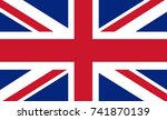 Great Britain Vector Flag....
