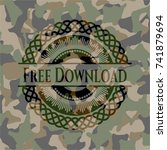 free download camouflaged emblem