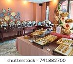 prachuap khiri khan  thailand   ... | Shutterstock . vector #741882700