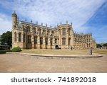 windsor  england  uk   july 7   ... | Shutterstock . vector #741892018