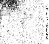black and white grunge...   Shutterstock . vector #741946378