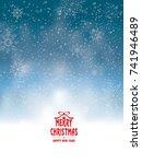 white christmas | Shutterstock .eps vector #741946489