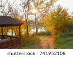 autumn nature   Shutterstock . vector #741952108
