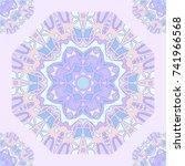 seamless pattern background...   Shutterstock .eps vector #741966568