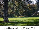 park view in october | Shutterstock . vector #741968740