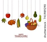 illustration of happy... | Shutterstock .eps vector #741989290