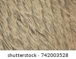 beautiful structure of sand... | Shutterstock . vector #742003528