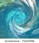 a hurricane like abstract that... | Shutterstock . vector #74202988