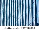 architectural abstract  a...   Shutterstock . vector #742032004