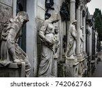 Monuments At Recoleta Cemetery...