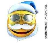 3d illustration of yellow... | Shutterstock . vector #742093456