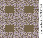 coffee bean seamless pattern...