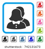 family icon. flat gray... | Shutterstock .eps vector #742131673