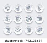 startup  funding  initial... | Shutterstock .eps vector #742138684
