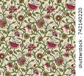 paisley pattern | Shutterstock . vector #742140220