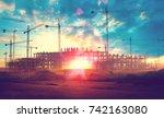 Sunset Landscape.construction...