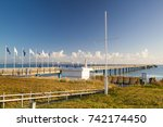 ruegen island germany ... | Shutterstock . vector #742174450