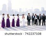 shanghai  china   december 28 ... | Shutterstock . vector #742237108