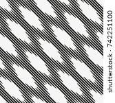 vector seamless pattern.... | Shutterstock .eps vector #742251100