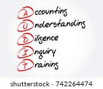 audit   accounting ... | Shutterstock .eps vector #742264474