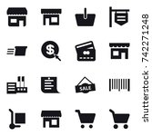16 Vector Icon Set   Shop ...