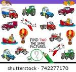 cartoon vector illustration of... | Shutterstock .eps vector #742277170