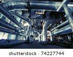 industrial zone  steel... | Shutterstock . vector #74227744